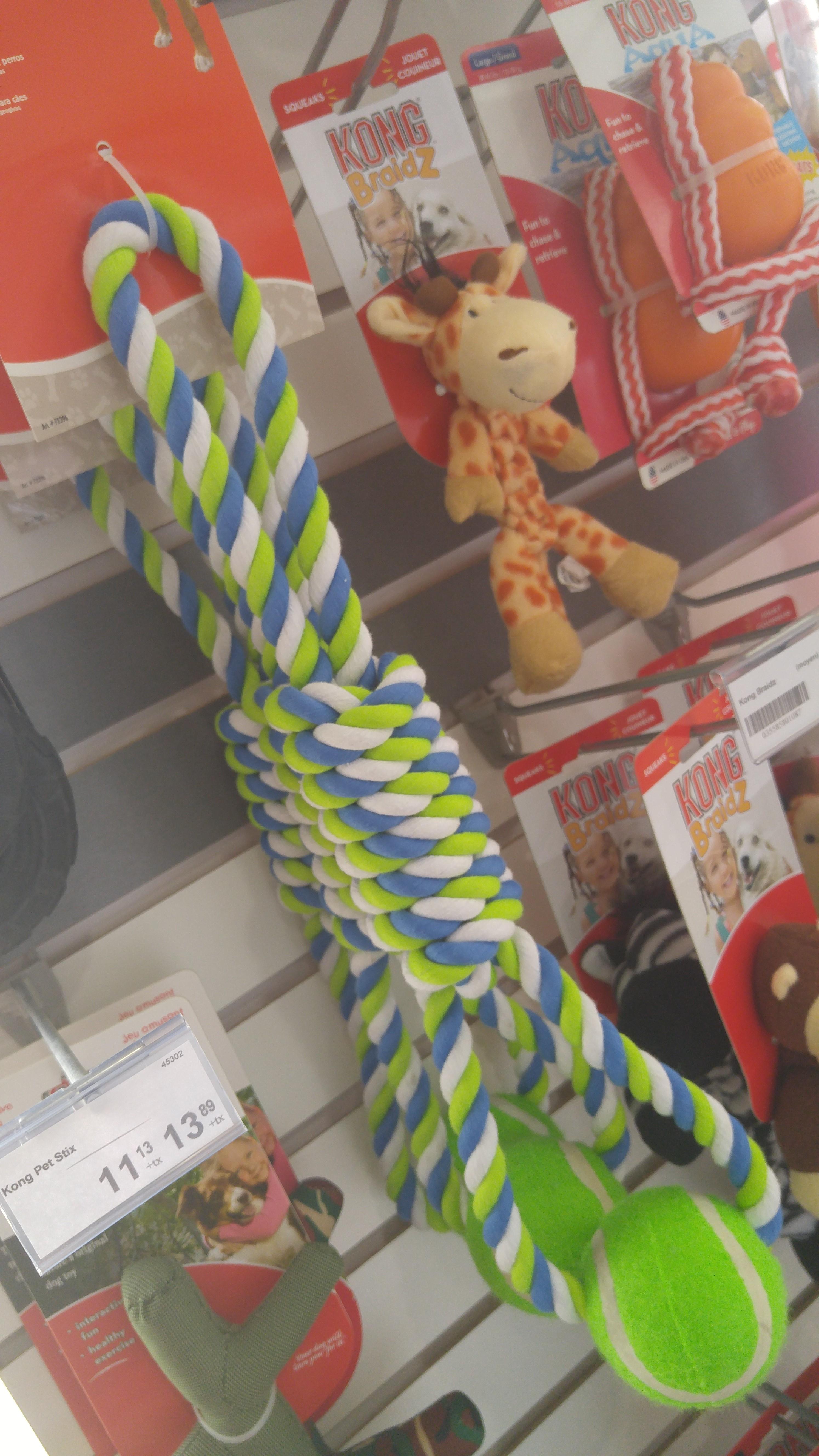 Jouets en corde pour chien