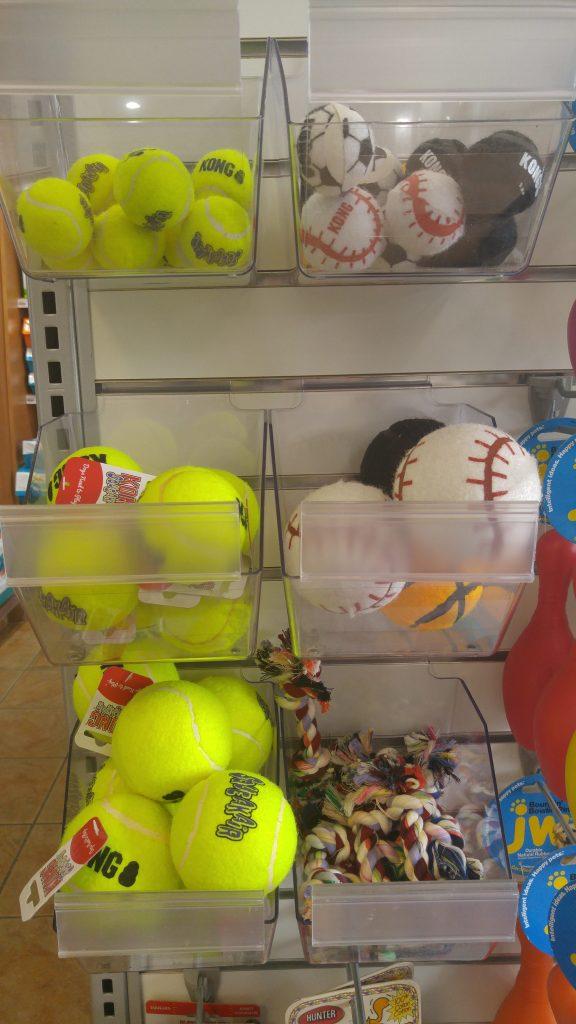 Balles de tennis sécuritaires pour l'email pour chien
