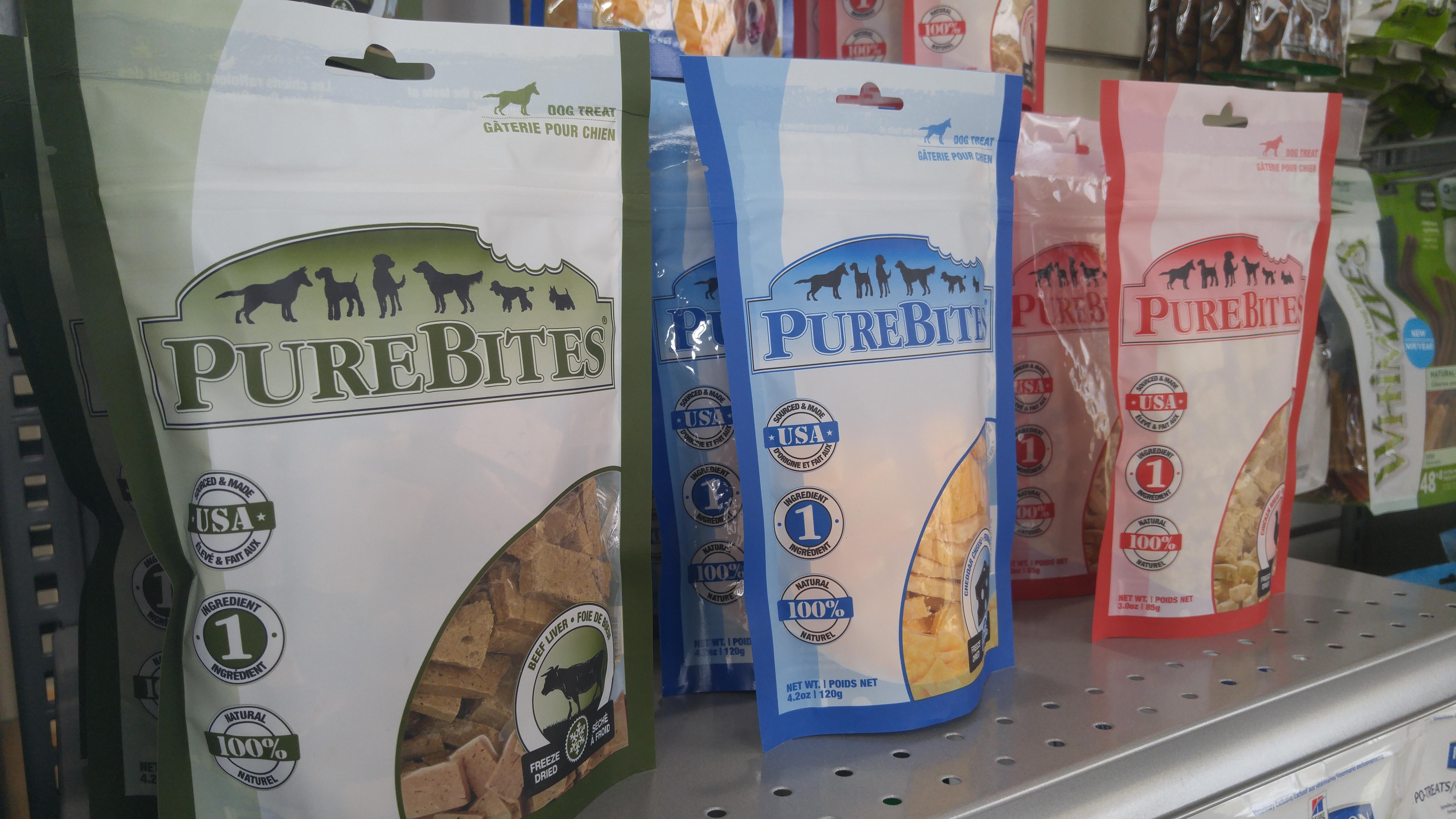 Poulet, fromage et foie séché pour chien